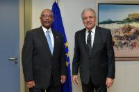 Visit of Frank Taylor, Under Secretary for Intelligence and Analysis at the US Department of Homeland Security, to the EC
