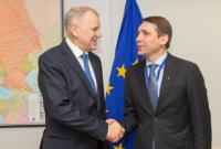 Visit of Mykola Tochytskyi, Head of the Mission of Ukraine to the EU, to the EC