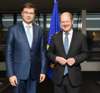 Visit of Olaf Scholz, Mayor of Hamburg, to the EC