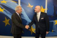 Visit of Andres Anvelt, Estonian Minister for the Interior, to the EC