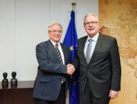 Visit of Joan Clos, Executive Director of United Nations Human Settlements Programme (UN-Habitat) and Under Secretary General of the United Nations, to the EC