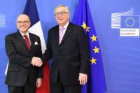 Visit of Bernard Cazeneuve, French Prime Minister, to the EC
