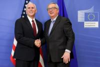 Visit of Mike Pence, Vice-President of the United States, to the EC