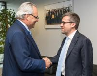 Visit of Jean-Louis Chaussade, CEO of Suez Environment Company, to the EC