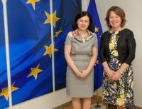 Visit of Diana Wallis, President of the European Law Institute, to the EC