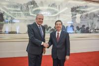 Visit of Dimitris Avramopoulos, Member of the EC, to China