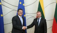 Visite de Maroš Šefčovič, vice-président de la CE, en Lituanie