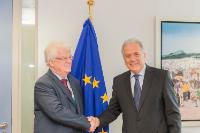 Visit of Vladimir Chizhov, Russian Permanent Representative to the EU, to the EC