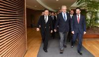 Visite de Qubad Talabani, vice-Premier ministre du gouvernement régional du Kurdistan (KRG), à la CE