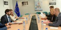 Visit of Fernando López Miras, President of the Regional Government of Murcia, to the EC