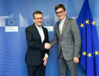 Visit of Marcello Scalisi, Director of the Mediterranean Universities Union (UNIMED), to the EC