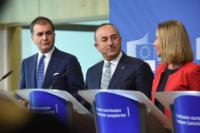 Press conference by Federica Mogherini, Vice-President of the EC, Johannes Hahn, Member of the EC, Mevlüt Çavuşoğlu, Turkish Minister for Foreign Affairs and Ömer Çelik, Turkish Minister for European Union Affairs and Chief Negotiator for Turkish Accession to the European Union