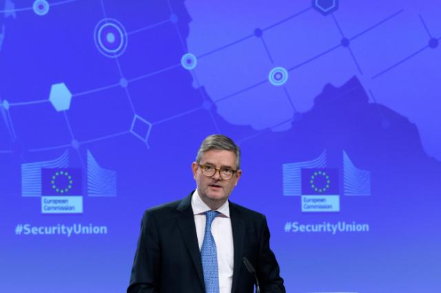 Press conference by Julian King, Member of the EC, on the Security union