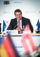 Visite de Maroš Šefčovič, vice-président de la CE et Corina Creţu, membre de la CE, en Lettonie