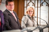 Visit of Maroš Šefčovič, Vice-President of the EC and Corina Creţu, Member of the EC, to Latvia