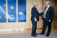 Visit of Karl-Heinz Lambertz, President of the Committee of the Regions (CoR), to the EC