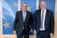 Visite de Karl-Heinz Lambertz, président du Comité des régions, à la CE