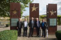 Visite de Dimitris Avramopoulos, membre de la CE, au Luxembourg