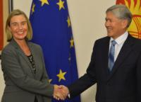Visit by Federica Mogherini, Vice-President of the EC, to Kyrgyzstan