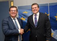 Visit of Bart Tommelein, Vice-Minister-President of the Flemish Government and Flemish Minister for Finance, Budget and Energy, to the EC
