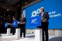 Visite de Jean-Claude Juncker, président de la CE, en Suède
