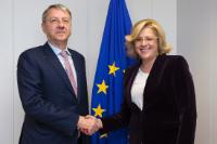 Visit of George Ciamba, Romanian State Secretary for Bilateral and Strategic Affairs in the Euro-Atlantic Space, to the EC