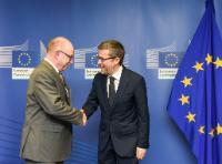 Visit of Martin Stratmann, President of the Max Planck Society, to the EC
