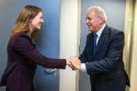 Visit of Monika Bickert, Head of Global Policy Management at Facebook, to the EC