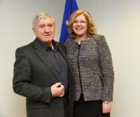 Visit of Mircea Diaconu, Member of the EP, to the EC