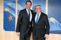 Visit of Nikolaus Marschik, Permanent Representative of Austria to the EU, to the EC