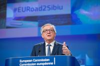Press conference by Jean-Claude Juncker, President of the EC, and Günther Oettinger, Member of the EC