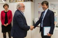 Visit of Nicolas Hulot, French Minister of State, Minister for the Ecological and Inclusive Transition, to the EC