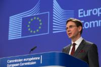 Press conference by Jyrki Katainen, Vice-President of the EC, on the EU's response to the trade restrictions on steel and aluminium announced by the US