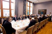 Participation of Jean-Claude Juncker, President of the EC, Antonio Tajani, President of the European Parliament, Donald Tusk, President of the European Council, and Corina Creţu, Member of the EC, at the Conference of the Presidents Ministers-President of the regional governments of Germany