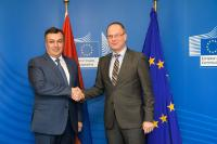 Participation of Tibor Navracsics, Member of the EC, to a signing ceremony for Armenia's participation in Creative Europe