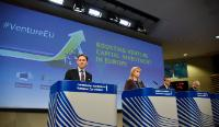 Press conference by Jyrki Katainen, Vice-President of the EC, Elżbieta Bieńkowska and Carlos Moedas, Members of the EC, and Pierluigi Gilibert, Chief Executive of the European Investment Fund (EIF),  on the VentureEU programme