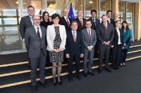 Participation de Carlos Moedas, membre de la CE, à la cérémonie de signature de l'arrangement administratif sur la coopération avec l'Argentine