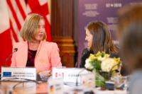 Participation of Federica Mogherini, Vice-President of the EC, Dimitris Avramopoulos, Member of the EC and Julian King, Member of the EC, to the Meeting of G7 Foreign and Security Ministers, in Canada