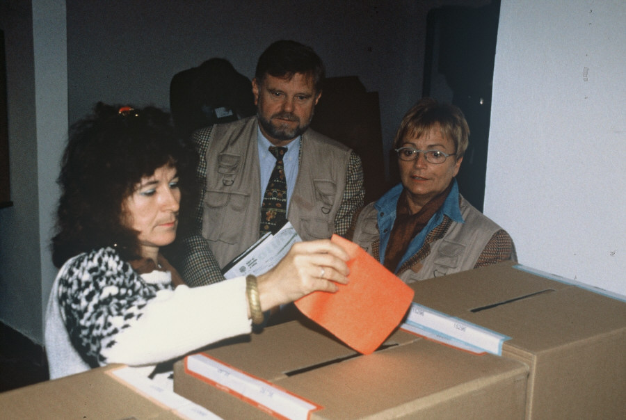 Bosnia and Herzegovina - Monitoring of Elections