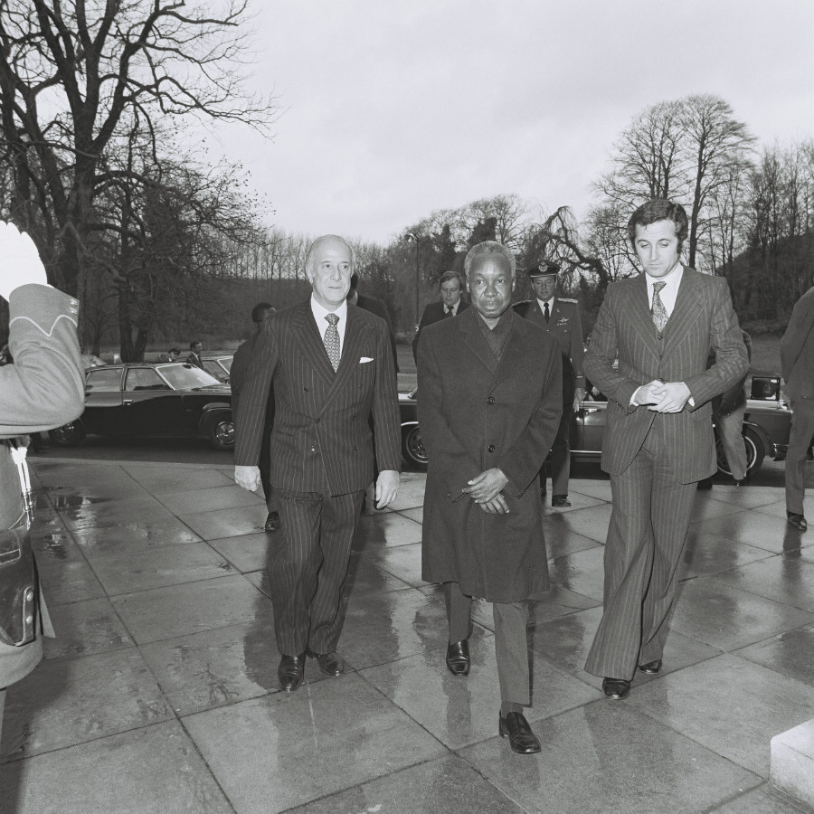 Visit of Julius Nyerere, President of Tanzania, to the CEC