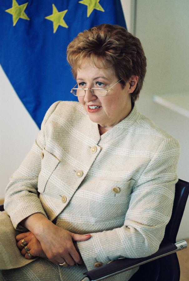 Monika Wulf-Mathies, membre de la CE