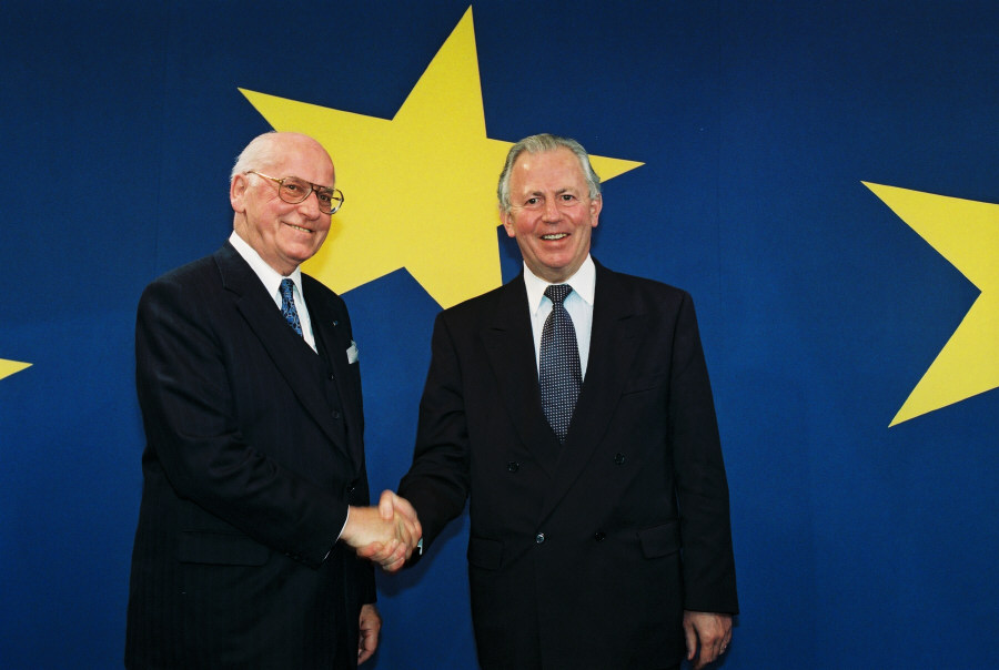 Visit of Lennart Meri, President of Estonia, to the EC
