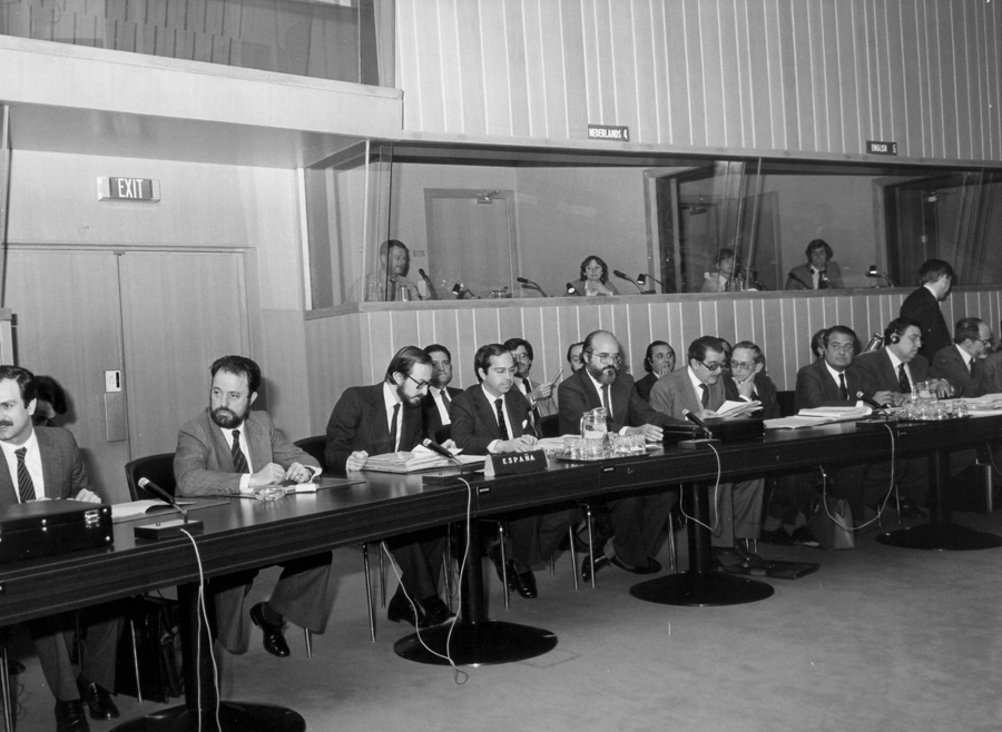 Meeting of the EEC-Spain Joint Committee