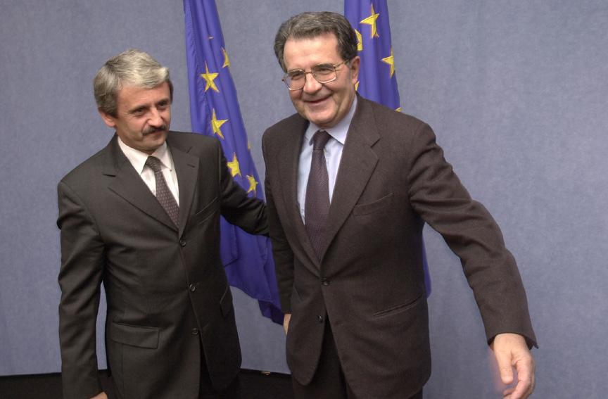 Visit of Mikulas Dzurinda, Slovakian Prime Minister, to the EC