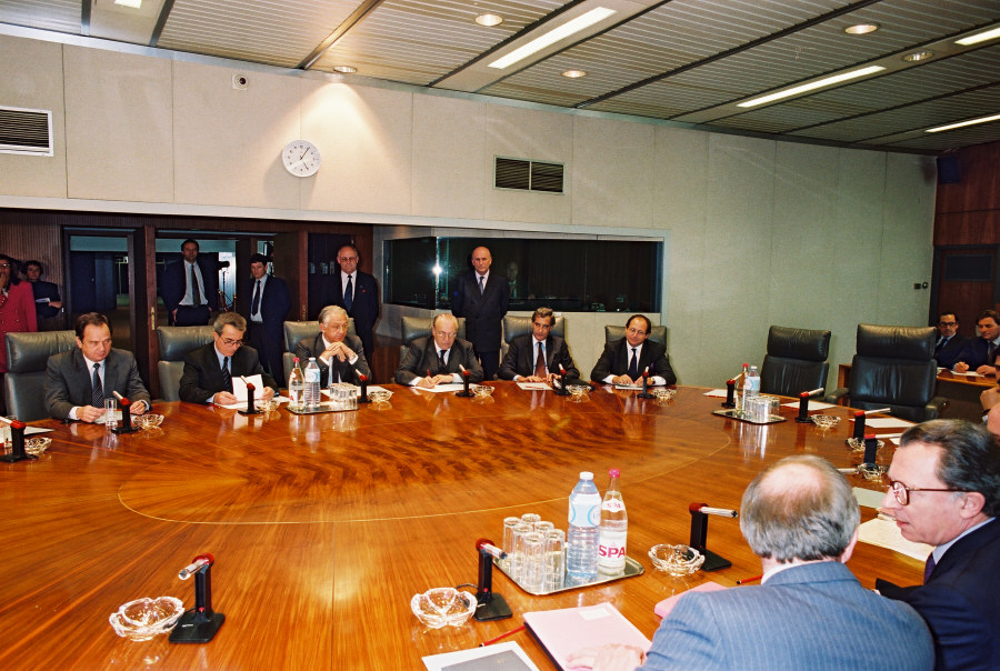 Visit by the Ministers for Foreign Affairs from Argentina, Brazil, Paraguay and Uruguay (Mercosur Group) to the CEC