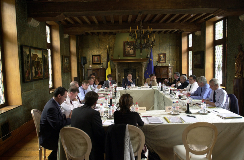 First meeting on the theme of « Brussels capital of Europe » under the joint responsibility of Romano Prodi and Guy Verhofstadt