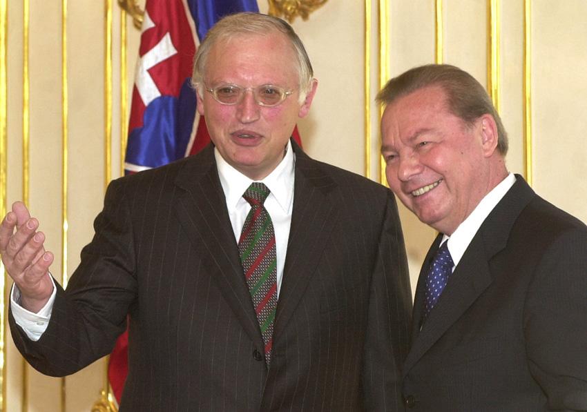 Visit of Günter Verheugen, Member of the EC, to Slovakia