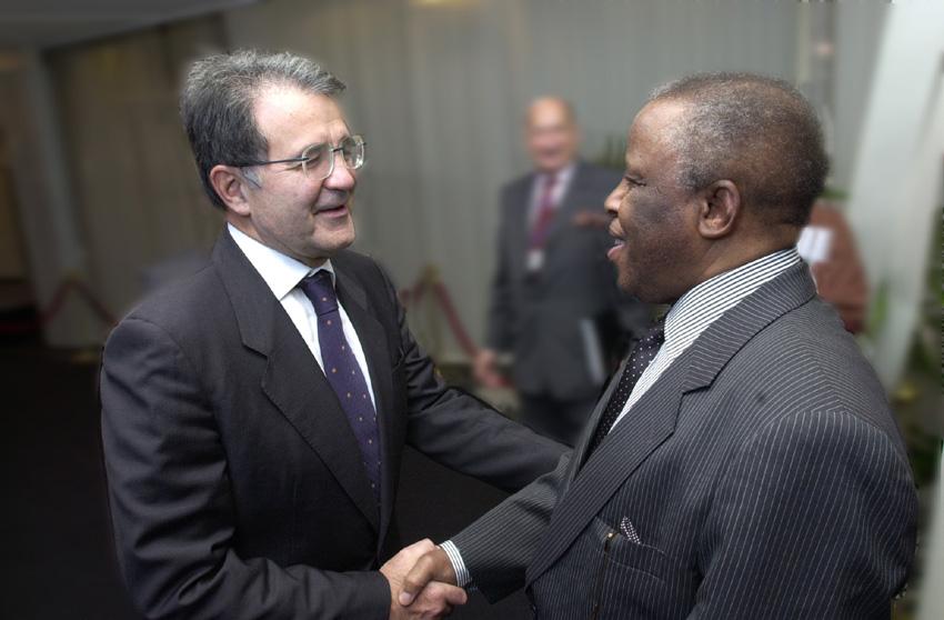 Visit of Festus Gontebanye Mogae, President of Botswana, to the EC