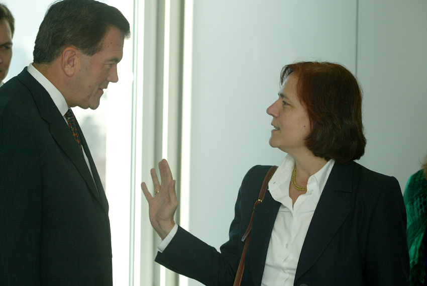 Visit of Tom Ridge, US Office of Homeland Security Advisor, to the EC