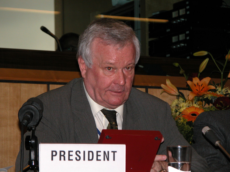 Roger Briesch, président du CES